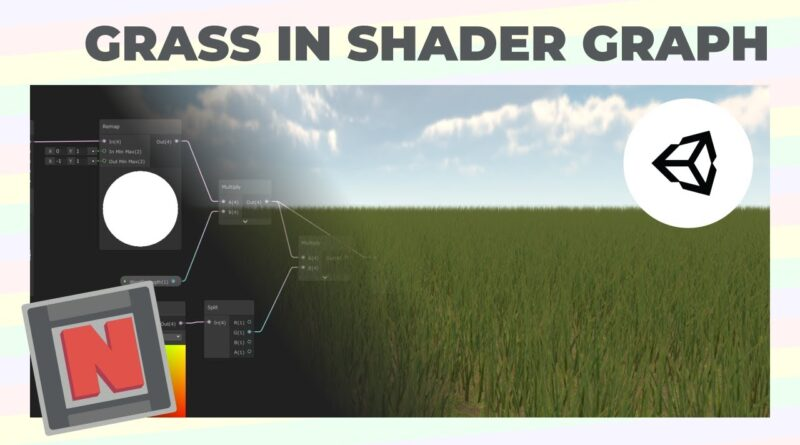 Wind Animated Grass In Shader Graph Using Meshes! Unity URP | Game Dev Tutorial
