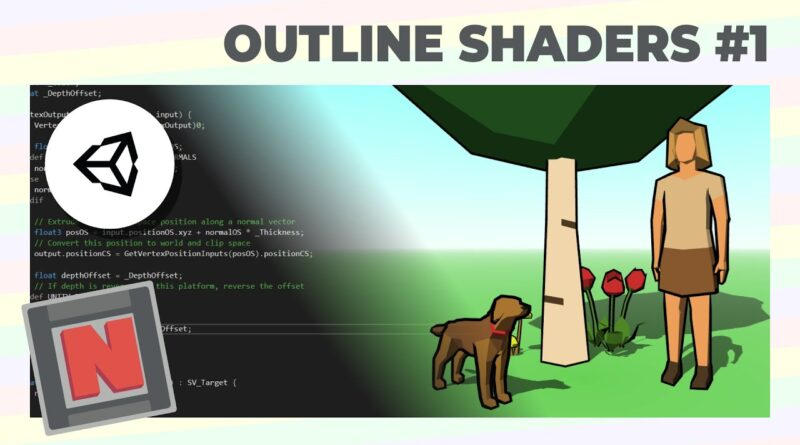Making a Hull Outline Shader in Unity URP Using Renderer Features and Culling! | Game Dev Tutorial