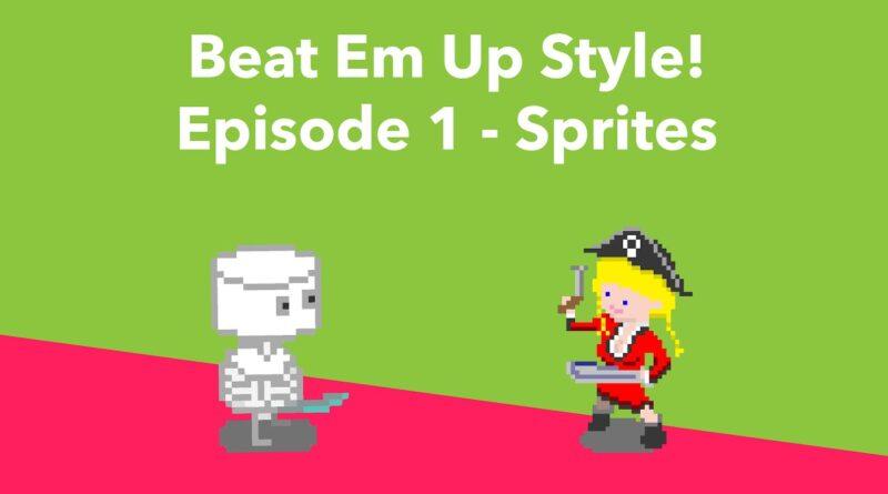 Unity Tutorial: Beat Em Up Style - Episode 1 - Setting up Sprites