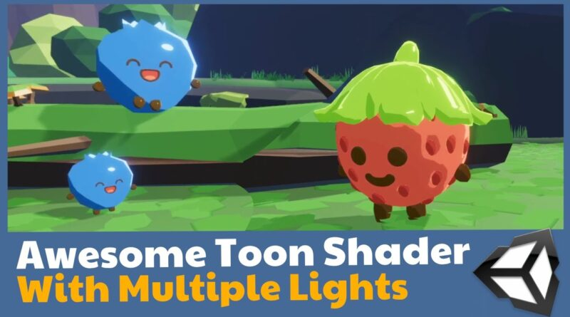 Unity Toon shader in Shader Graph with multiple lights!