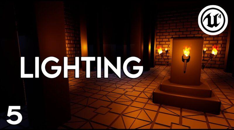 Unreal Engine 4 - Lighting Tutorial