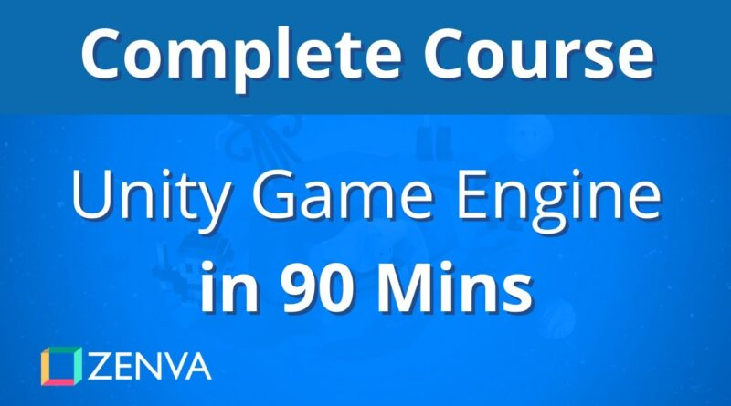 COMPLETE COURSE - Learn the Unity Game Engine in 90 MINUTES