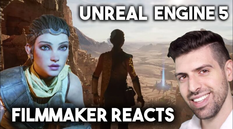 Filmmaker Reacts to Unreal Engine 5 PS5 Demo - What it means for Storytelling