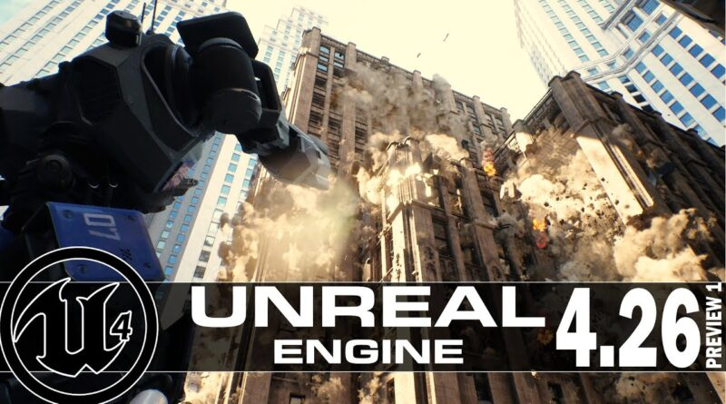 Unreal Engine 4.26p1 + A Chaos Physics Tutorial!