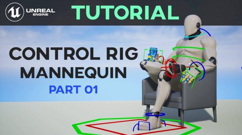 Control Rig Tutorial - Part 01 - Animation In Unreal Engine 4 | Sonali Singh