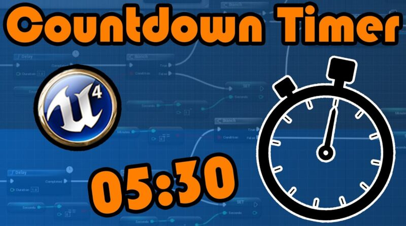 Countdown Timer | End Game Screen - Unreal Engine 4 Tutorial
