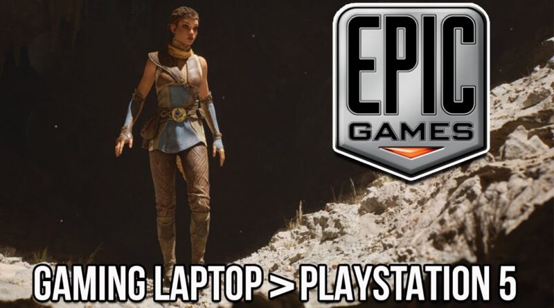 The Unreal Engine 5 Tech Demo Runs BETTER On A Gaming Laptop Than The PS5