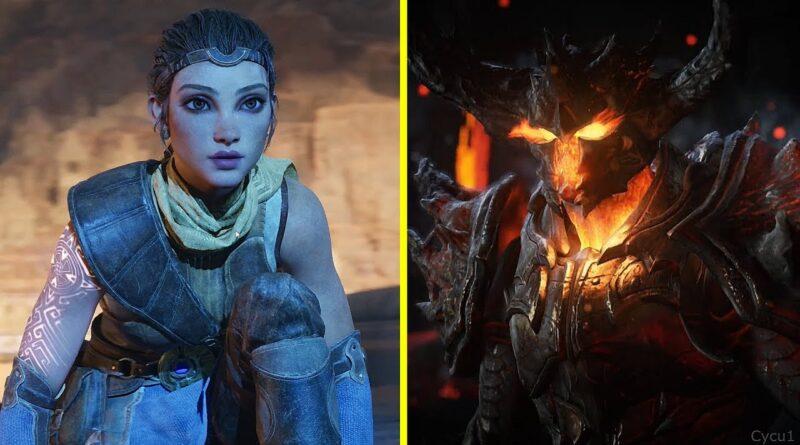 Unreal Engine 4 vs 5 Early Graphics Comparison