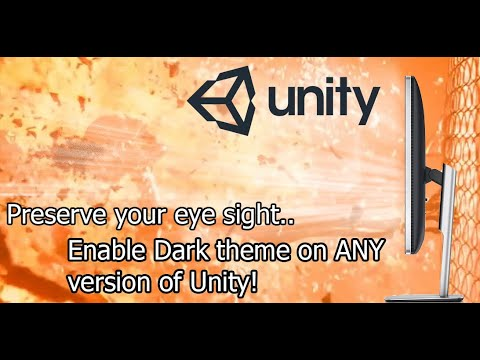 [Tutorial] Unity - Enable Dark theme on any Unity version on Windows (Unity 5 - Unity 2020+)