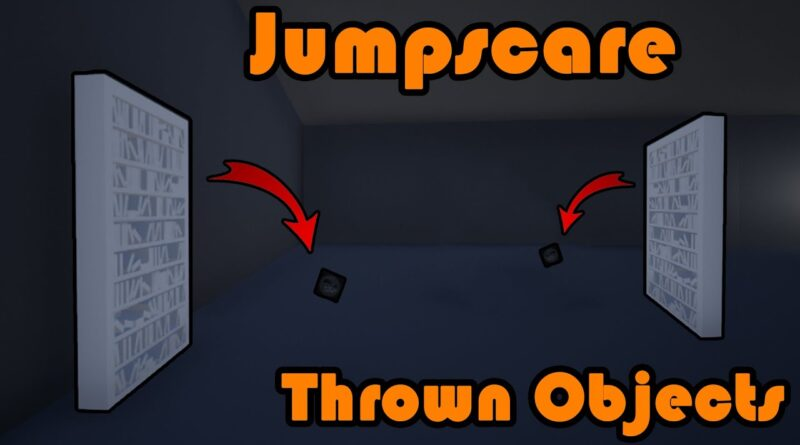 Thrown Object Jumpscare   Book Thrown Off Bookshelf - Unreal Engine 4 Tutorial