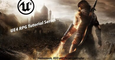 GameMode and HUD   #2 Creating A Role-Playing Game With Unreal Engine 4