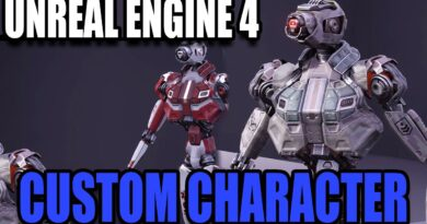 Importing FREE Custom Characters From Marketplace - Unreal Engine 4 for Complete Beginners 2020