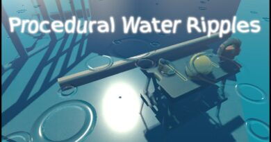 Procedural Water Ripples in Unity using Shader Graph Only