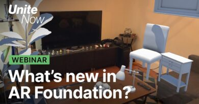 What's new in Unity's AR Foundation | Unite Now 2020