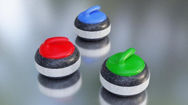 Curling rock Blender Tutorial