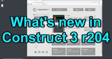 What's new in Construct 3 r204