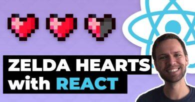 Build Zelda HUD hearts in React (Gamedev Tutorial)