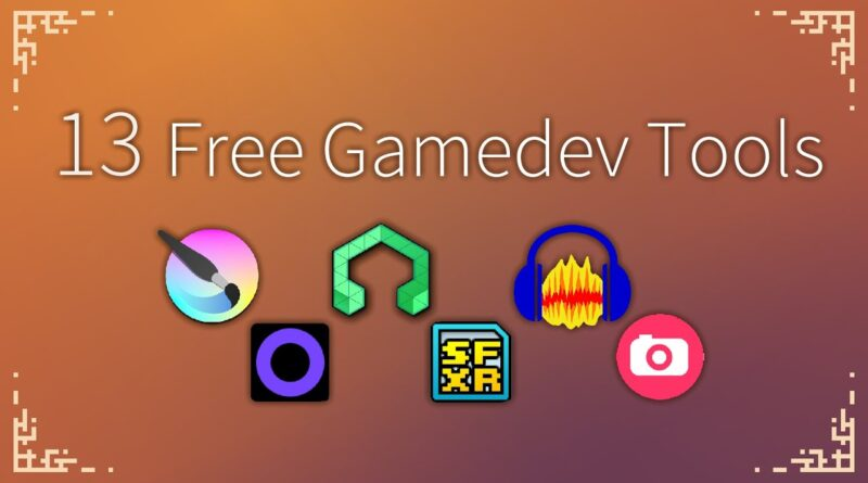 Free Gamedev Tools I Use
