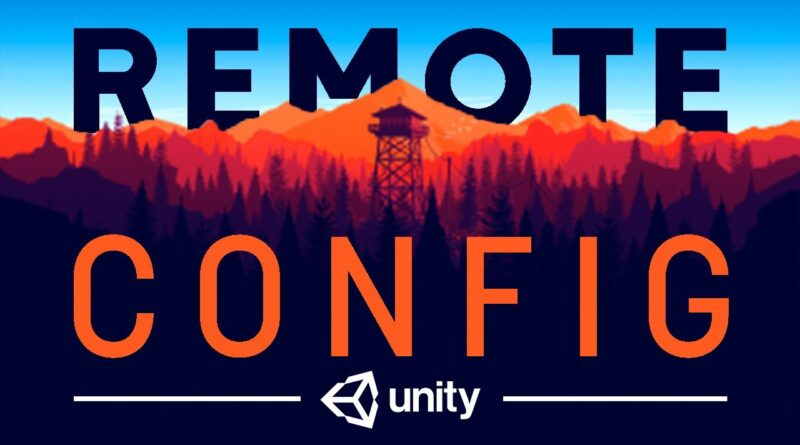 CHANGE YOUR GAME ANYWHERE using Remote Config - Unity Tutorial