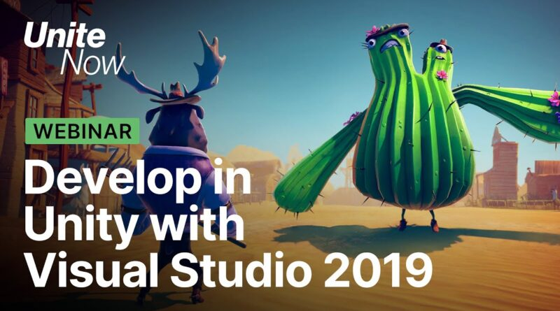 Tips and tricks to develop in Unity with Visual Studio 2019 | Unite Now 2020