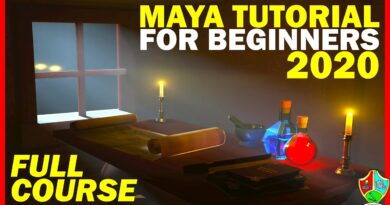 Maya Tutorial for Beginners 2020