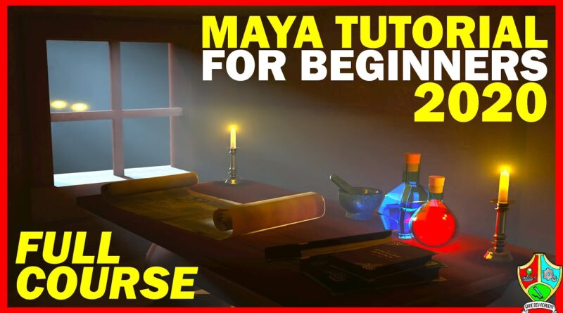 Maya Tutorial for Beginners 2020