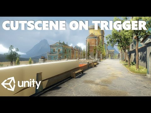 HOW TO START A CUTSCENE FROM A TRIGGER WITH C# IN UNITY TUTORIAL