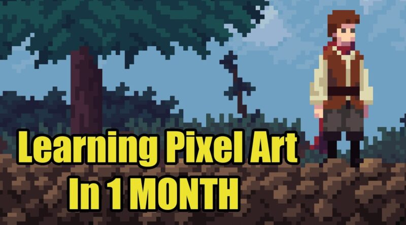 I Learnt How to Draw Pixel Art