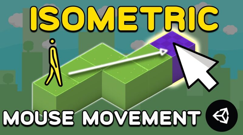 Mouse Click Movement in Isometric Tilemap - Unity Tutorial