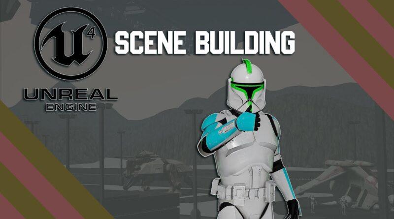 Unreal Engine 4 Beginner Tutorial - Scene Building (3)