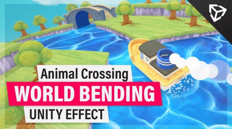 Animal Crossing World Bending Effect | Unity Tutorial