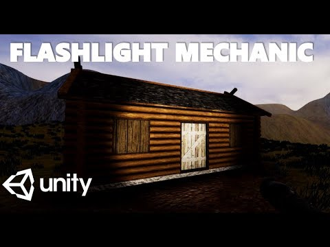 HOW TO MAKE A SIMPLE FLASHLIGHT MECHANIC WITH C# IN UNITY TUTORIAL