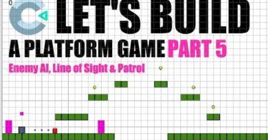 Construct3: Platform Game Tutorial - Part 5 Enemy AI