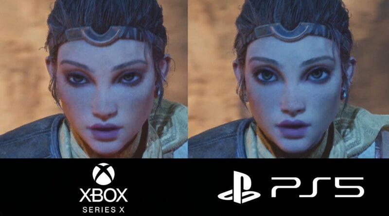"TRUE NEXT GEN REVEALED - PS5 vs Xbox - Unreal Engine 5 ""GAMEPLAY"""
