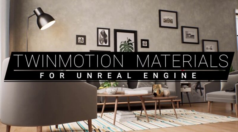 FREE TWINMOTION MATERIALS FOR UNREAL ENGINE!