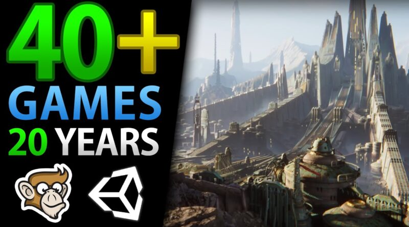 My Game Dev Journey (40+ Games!)