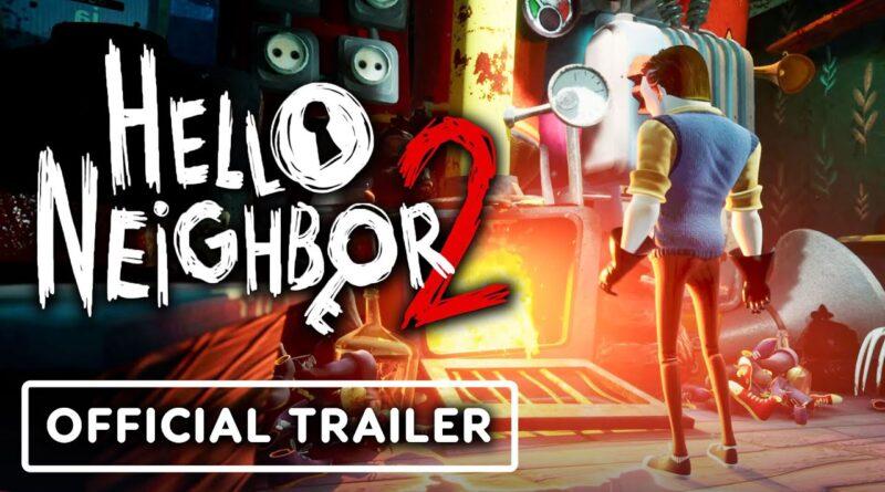 Hello Neighbor 2 - Official Announcement Trailer   Xbox Showcase 2020