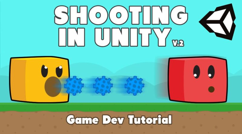 Shoot and Destroy Enemy with Bullets in Unity (with sounds!) | Game Dev Tutorial