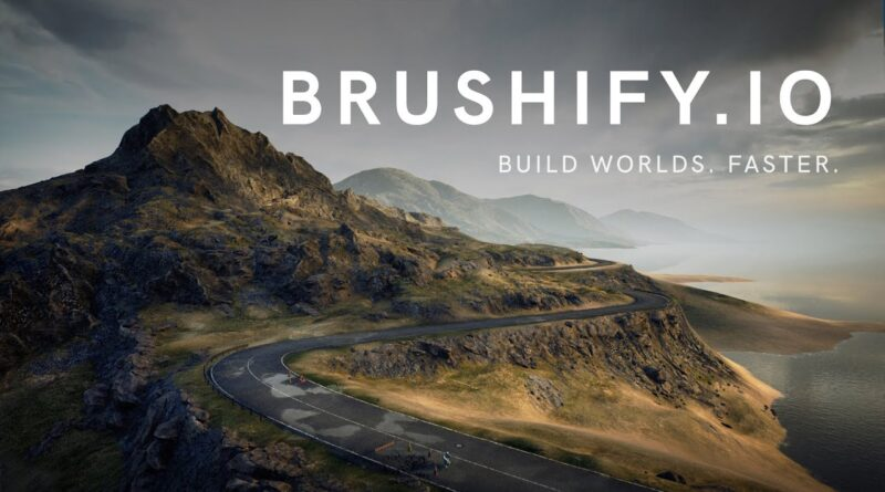 Create Country Roads in Unreal Engine 4 with Brushify