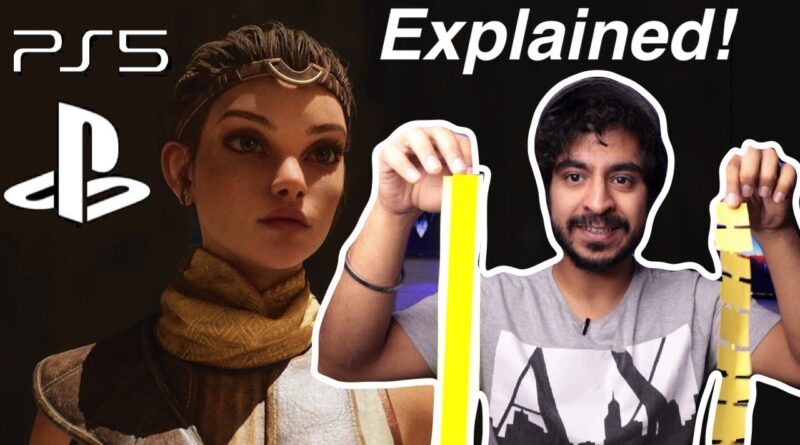 PS5 Unreal Engine 5 Gameplay EXPLAINED!