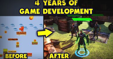4 Years of Learning Game Development
