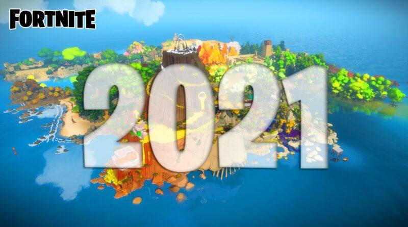 Fortnite: 2021 (Unreal Engine 5)