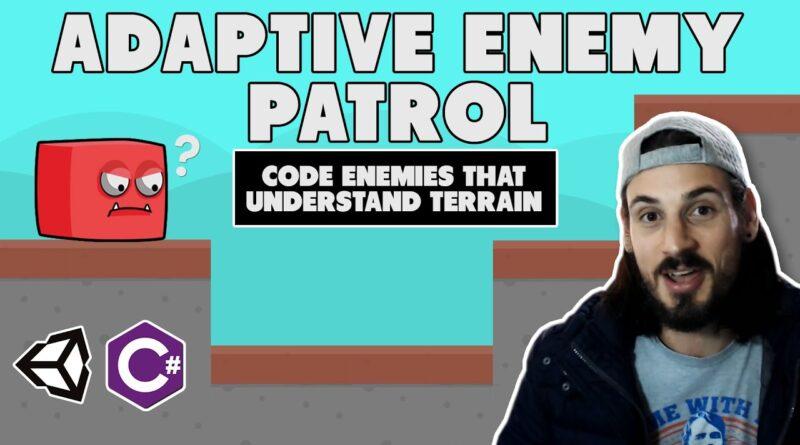 Adaptive Enemy AI Patrol System - Complete Unity Game Dev Tutorial
