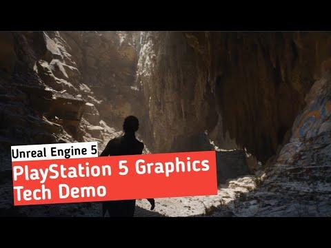 PlayStation 5 Graphics Demo - Unreal Engine 5 Demo (Hindi)