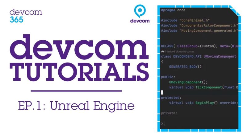 Intro to C++ for Unreal Engine with TheRealHellcat | Devcom Tutorials Ep.1