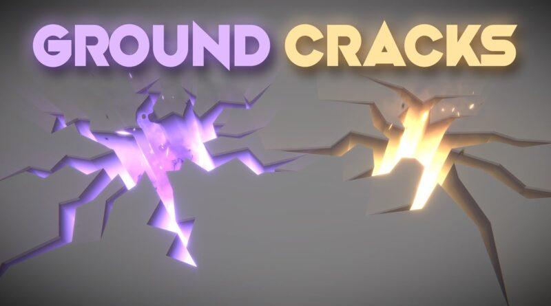Unity VFX - Ground Cracks | Fissure | Hole Effect Tutorial