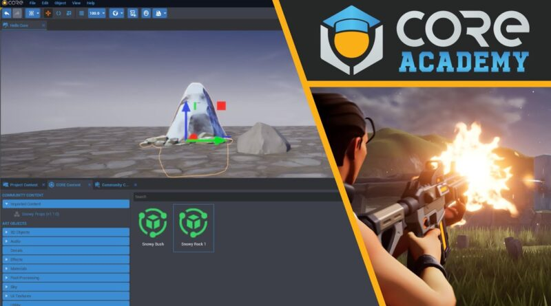 Introduction to the Core Editor - Game Creator Toolkit Basics