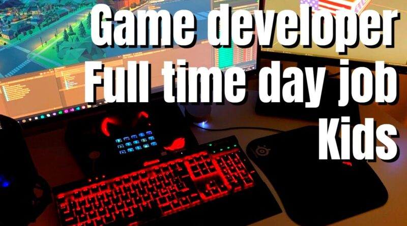 A day in the life of a game dev with a full time day job