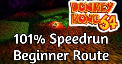 Donkey Kong 64 - 101% Beginner Route Speedrun in 5:23:26