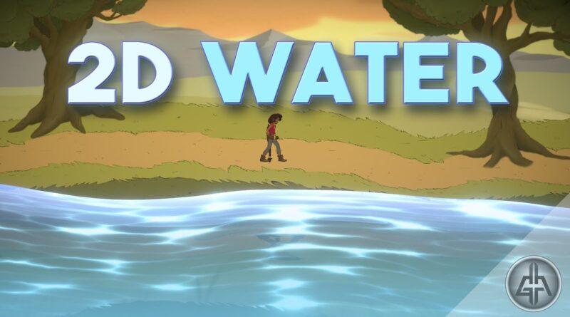 Unity 2D - Water Shader Tutorial